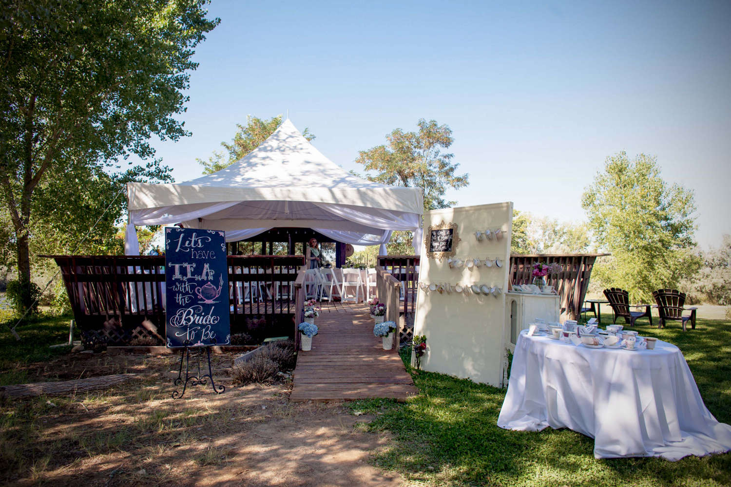 Wedding Venue by Colorado River
